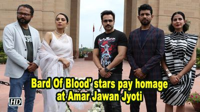 'Bard Of Blood' stars pay homage at Amar Jawan Jyoti
