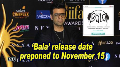 Bala release date preponed to november 15