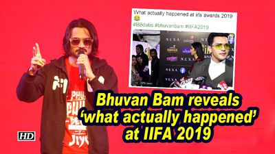 Bhuvan bam reveals what actually happened at iifa 2019