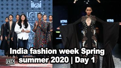 All new at india fashion week spring summer 2020 day 1