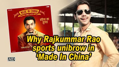 Why rajkummar rao sports unibrow in made in china