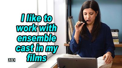 Zoya akhtar i like to work with ensemble cast in my films