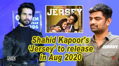 Shahid kapoors jersey to release in aug 2020
