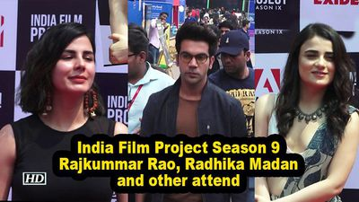 India film project season 9 rajkummar rao radhika madan and other attend