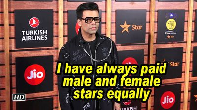 Karan johar i have always paid male and female stars equally