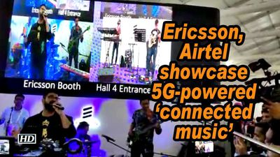 Ericsson, Airtel showcase 5G-powered 'connected music'