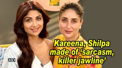 Kareena shilpa made of sarcasm killer jawline