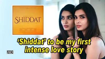 Diana penty shiddat to be my first intense love story