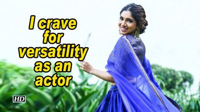 Bhumi pednekar i crave for versatility as an actor