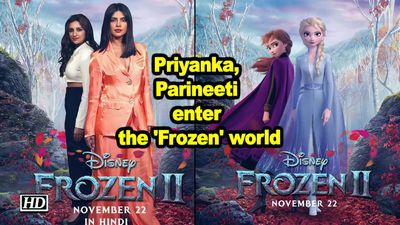 Priyanka parineeti enter the frozen world