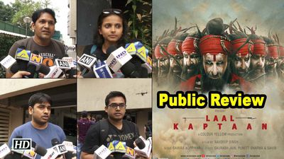 Public review laal kaptaan saif ali khan as naga sadhu in revenge drama