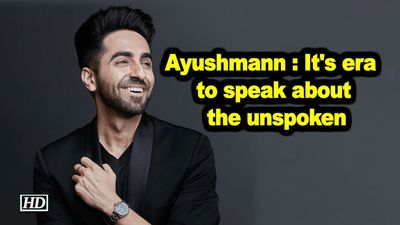Ayushmann khurrana its era to speak about the unspoken