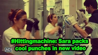 Hittingmachine sara packs cool punches in new video