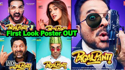 Pagalpanti anil kapoor john abraham and other characters revealed motion poster out
