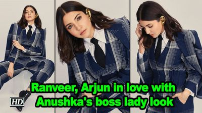 Ranveer arjun in love with anushkas boss lady look