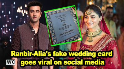 Ranbir alia s fake wedding card goes viral on social media