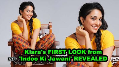 Kiara Advani's FIRST LOOK from 'Indoo Ki Jawani' REVEALED