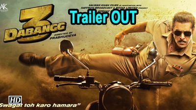 Dabangg 3 salman khan returns as chulbul pandey trailer out