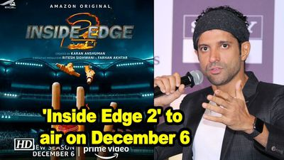 'Inside Edge 2' to air on December 6