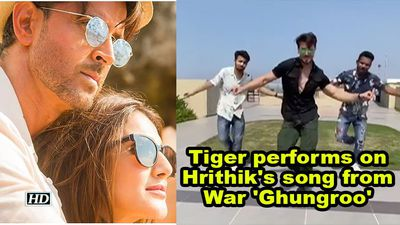 Tiger performs on Hrithik's song from War 'Ghungroo', amazes B-town celebs