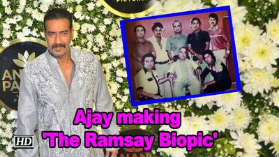 Ajay Devgn making The Ramsay Biopic
