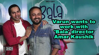 Varun Dhawan: Want to work with 'Bala' director Amar Kaushik