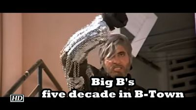 Big B five decade in BTown