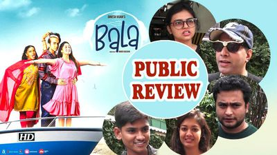 Public Review | Bala | Ayushmann play a man with premature balding