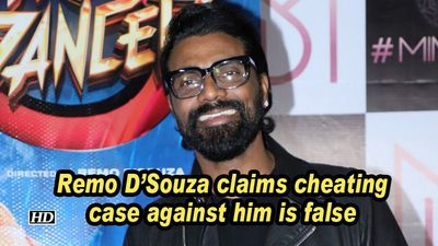 Remo D'Souza claims cheating case against him is false
