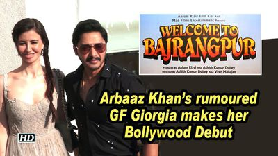 Arbaaz Khan's rumoured GF Giorgia makes her Bollywood Debut