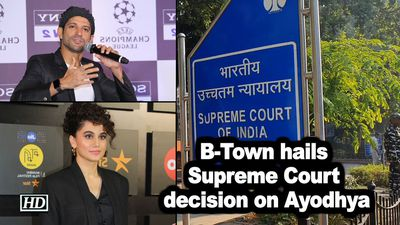 B-Town hails Supreme Court decision on Ayodhya