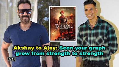 Akshay to ajay seen your graph grow from strength to strength