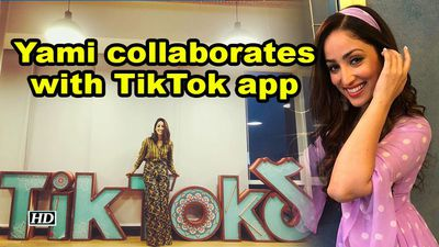 Yami gautam collaborates with tiktok app