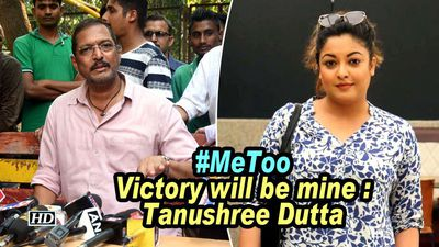 Metoo victory will be mine tanushree dutta