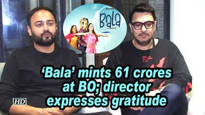 Bala mints 61 crores at bo director expresses gratitude