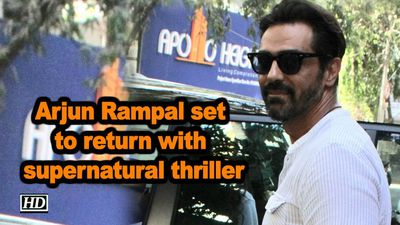 Arjun rampal set to return with supernatural thriller