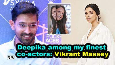 Deepika among my finest coactors vikrant massey