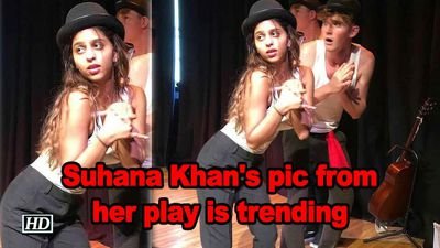 Suhana khans pic from her play is trending