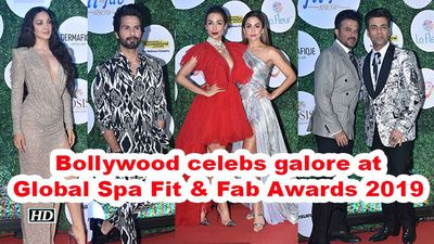 Bollywood celebs galore at global spa fit fab awards 2019