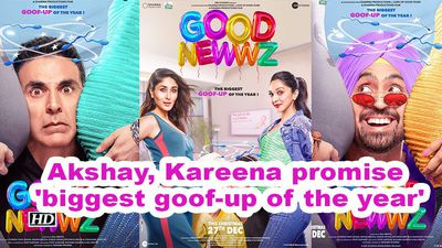 Good newwz akshay kareena promise biggest goofup of the year