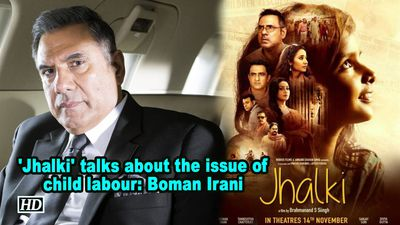 Jhalki talks about the issue of child labour boman irani
