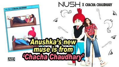 Anushka's new muse is from 'Chacha Chaudhary'