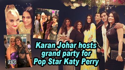 Karan Johar hosts grand party for Pop Star Katy Perry