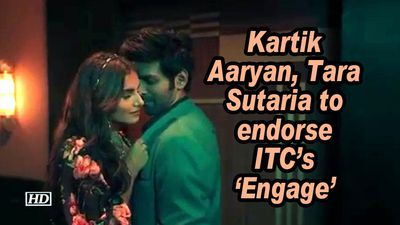 Kartik Aaryan, Tara Sutaria to endorse ITC's 'Engage'