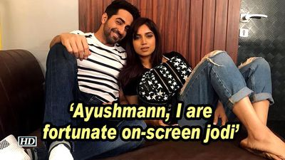 Bhumi Pednekar: Ayushmann, I are fortunate on-screen jodi