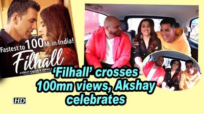 'Filhall' crosses 100mn views, Akshay Kumar celebrates