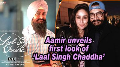 Aamir unveils first look of 'Laal Singh Chaddha'