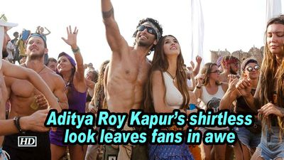 Aditya Roy Kapur's shirtless look leaves fans in awe