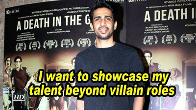 Gulshan Devaiah: I want to showcase my talent beyond villain roles