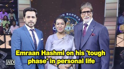 Emraan Hashmi on his 'tough phase' in personal life